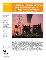 NRDC: El costo del cambio climático, resumen ejecutivo (pdf)
