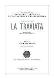 La Traviata - Società Filarmonia