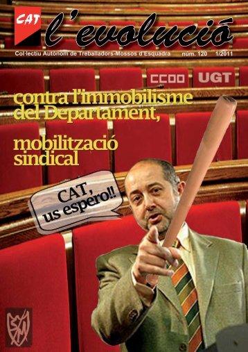núm. 120 1/2011 Col·lectiu Autònom de Treballadors-Mossos d ...