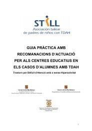 guia pràctica amb recomanacions d'actuació per als centres ...