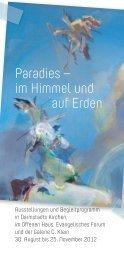 Paradies – im Himmel und auf Erden - Johann-P-Reuter