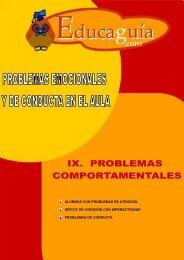 Curso de Problemas Emocionales y de Conducta en ... - Educaguide
