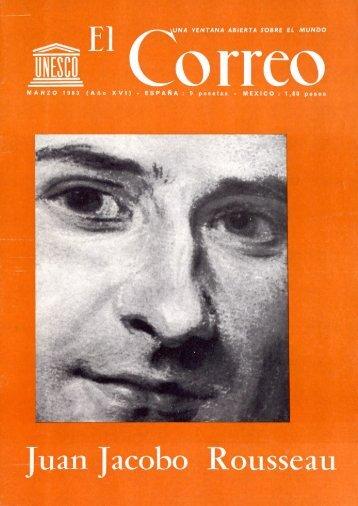 Juan Jacobo Rousseau; The UNESCO Courier ... - unesdoc - Unesco