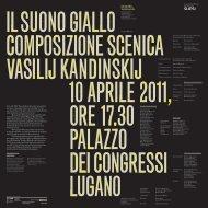 240_brochure e opusc.. - Conservatorio della Svizzera Italiana