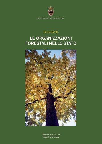 Le organizzazioni forestali nello Stato - Dipartimento Foreste ...