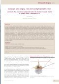 Endoscopic Spine Surgery – Now and Looking ... - joimax GmbH - Page 3