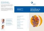 Behandlung im Brustzentrum - St.-Josefs-Hospital Dortmund-Hörde