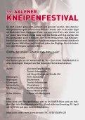 Programm 11. Aalener Kneipenfestival - Seite 3