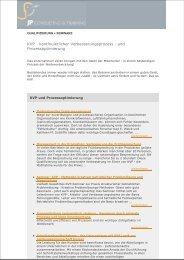 KVP kontinuierlicher Verbesserungsprozess und Prozessoptimierung