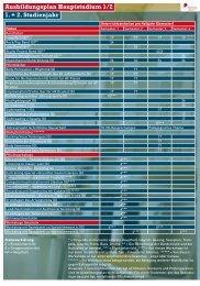 Ausbildungsplan Hauptstudium 1/2 1. + 2. Studienjahr - Jazz & Rock ...
