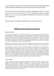 ORDENANÇA MUNICIPAL D'ACTIVITATS - Ajuntament de Palma