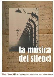 La música del silenci - IES Narcís Monturiol