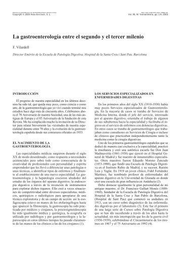 1. VILARDELL (castell) - Sociedad Española de Patología Digestiva