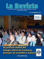 La Revista 18 - Colegio Oficial de Protésicos Dentales de Castellón y
