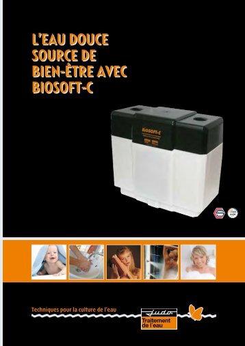L'EAU DOUCE SOURCE DE BIEN-ÊTRE AVEC BIOSOFT-C