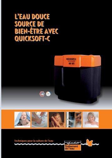 L'EAU DOUCE SOURCE DE BIEN-ÊTRE AVEC QUICKSOFT-C