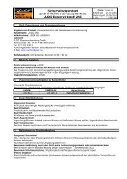 EG-Sicherheitsdatenblatt JNS - Judo Wasseraufbereitung GmbH