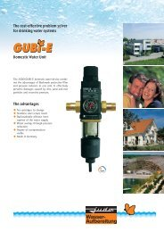 The cost-effective problem solver for drinking water systems The ...