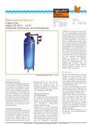Produktdatenblatt JUDO E-Reihe Filter JEF-EM 2 - 4 K-M