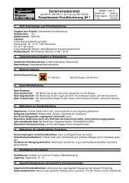 EG-Sicherheitsdatenblatt JH 1 - Judo Wasseraufbereitung GmbH