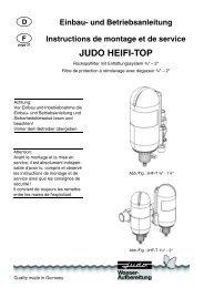 JUDO HEIFI-TOP - Judo Wasseraufbereitung GmbH