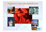 Hygiene in Sanitärinstallationen - Judo Wasseraufbereitung GmbH