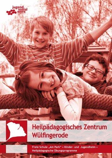 """Freie Schule """"Am Park"""" • Kinder- und ... - Jugendsozialwerk"""