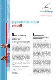 Nummer 96 / Februar 2011 Jugendarmut konkret ... - LAG KJS NRW