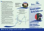Flyer 2012.qxd - Stift Sunnisheim