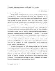 A Imagem Analógica e o Ritmo na Poesia de L. S. Senghor