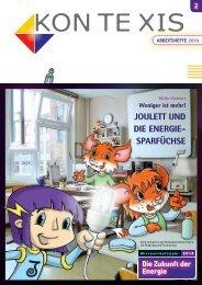 Joulett und die Energiesparfüchse - Jugend Technik Schule