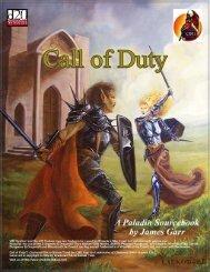 DnD/Class Handbooks/Paladins/Call of Duty - Paladin