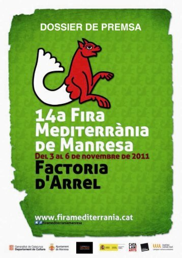 Impresión de fax de página completa - Fira Mediterrània de Manresa