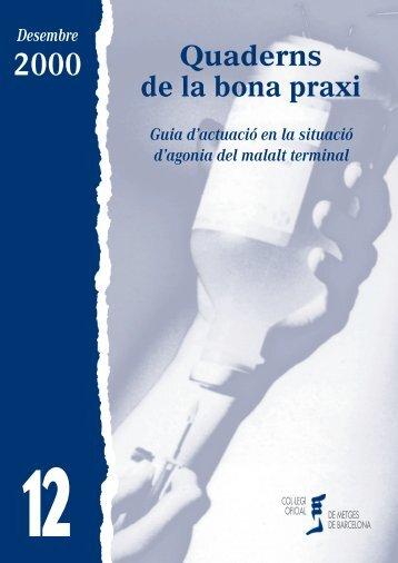 PRAXI 12 FINAL JOAN - Col·legi Oficial de Metges de Barcelona