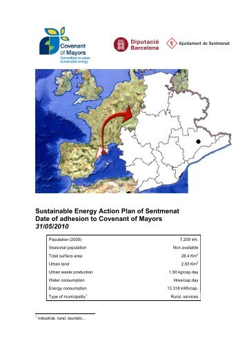Sustainable Energy Action Plan of Sentmenat Date of adhesion to ...