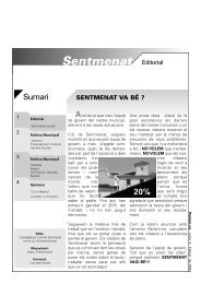 Sentmenat - CiU