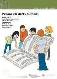 Pensar els drets humans - Generalitat de Catalunya