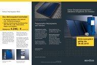 Solar Schüco Aktionspaket 9 (PDF) - Junghanns Heizung / Sanitär ...