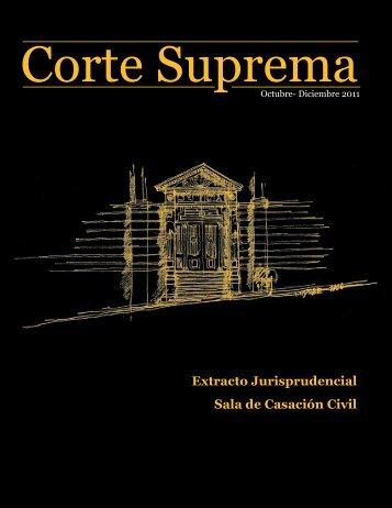 Octubre - Diciembre 2011 - Corte Suprema de Justicia