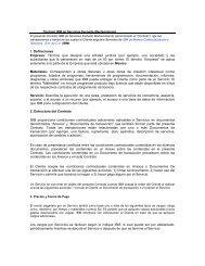 Contrato IBM de Servicios Excluido Mantenimiento