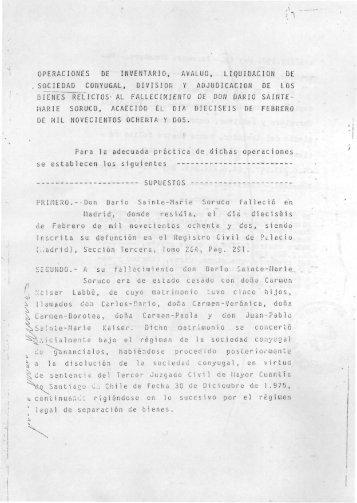 Testamento de Volpone, páginas 21 a 31 - CIPER Chile