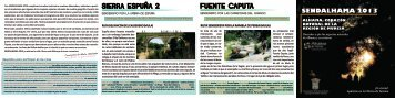 SIERRA ESPUÑA 2 FUENTE CAPUTA - Ayuntamiento de Alhama ...