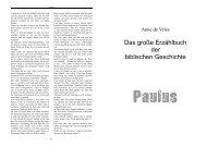 Paulus - Erzählbibel - Jungschar.biz