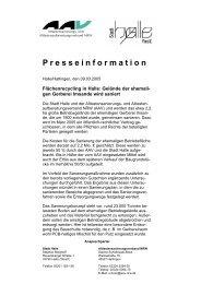 Presseinformation - AAV NRW