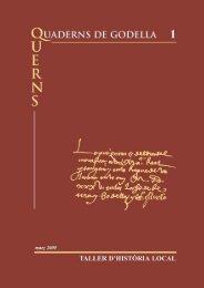 839/1587 Reedici.n (Quaderns 1) - Taller d'Història Local de Godella