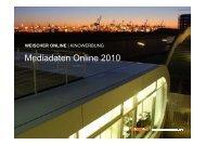 WO_ Mediadaten Online 14.07.2010 - WerbeWeischer