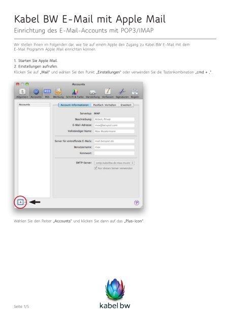 Unitymedia e mail einrichten