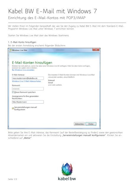 Windows Live Anmelden Deutsch