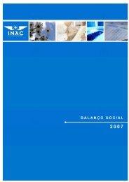 Balanço Social 2007 - Instituto Nacional de Aviação Civil