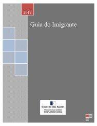 Guia do Imigrante - Presidência do Governo Regional dos Açores